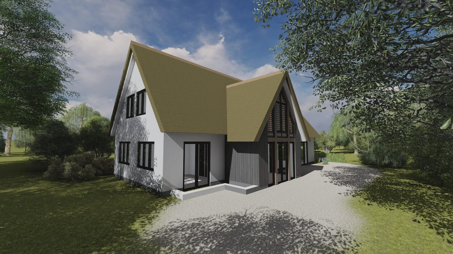 Luxe villa nieuwbouw | Wijnja Groep B.V.