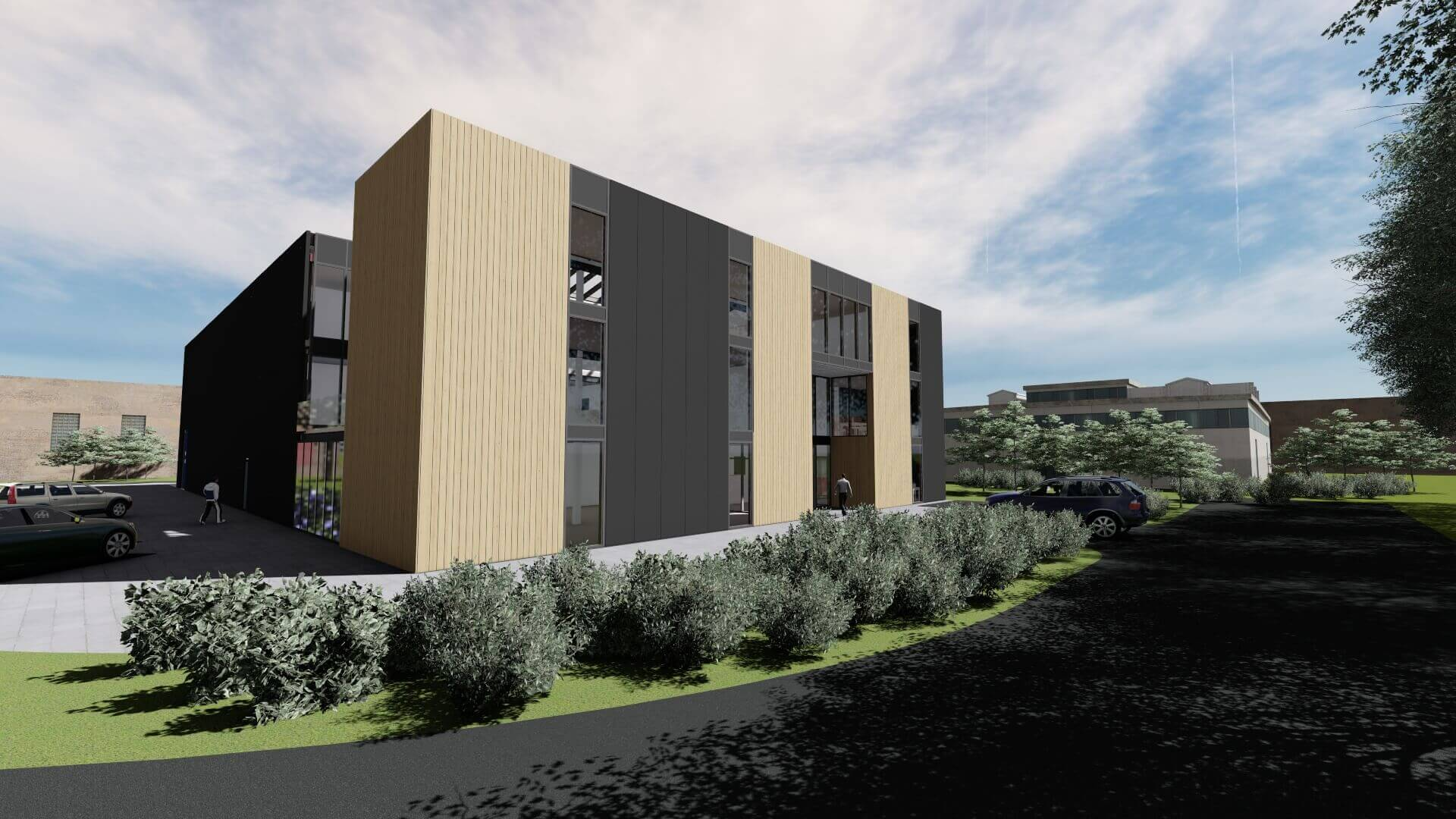 Nieuwbouw bedrijfspand Etikon Nederland | Wijnja Groep B.V.